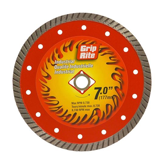"Grip-Rite 7"" Industrial Quality Turbo Blade"