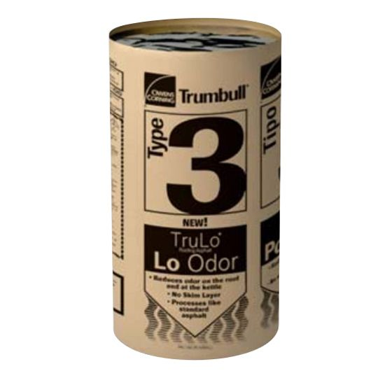 Trumbull TruLo® Low-Odor Type III Asphalt - 100 Lbs. Carton (Steep)