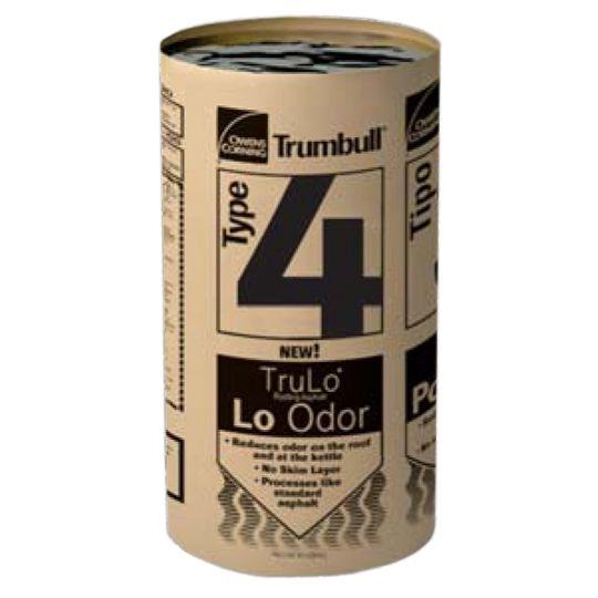 Trumbull TruLo® Low-Odor Type IV Asphalt - 100 Lbs. Carton (Extra Steep)