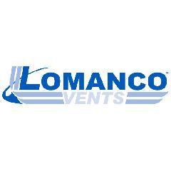 Lomanco Model 750-S Slant Back Static Roof Louver with Screen