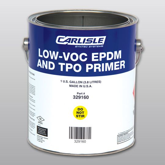 Carlisle Syntec Low-VOC EPDM & TPO Primer 1 Gallon Can Olive Drab