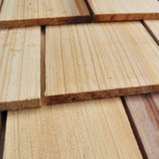 """Watkins Sawmill 18"""" x 5/8"""" Western Red Cedar Tapersawn Premium"""
