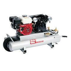 Grip-Rite 10 Gallon Honda Motor 5.5 HP Gas Wheelbarrow Compressor