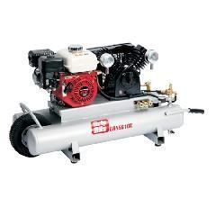 Grip-Rite 10 Gallon Honda Motor 5.5 HP Gas Wheelbarrow Compressor