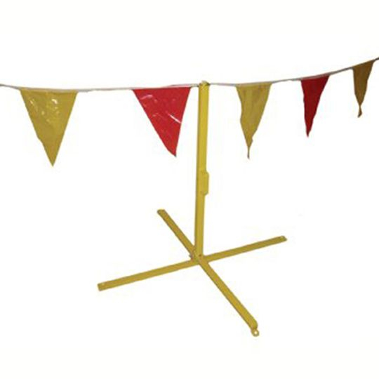 C&R Manufacturing Pennant Flag Stand Only YEL Yellow