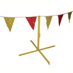 C&R Manufacturing Pennant Flag Stand Only YEL