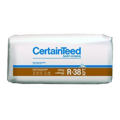 "Certainteed - Insulation 12"" x 24"" x 48"" Sustainable R-38 Kraft Faced..."