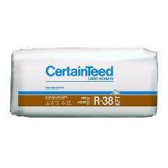 "Certainteed - Insulation 12"" x 24"" x 48"" Sustainable R-38 Kraft Faced..."
