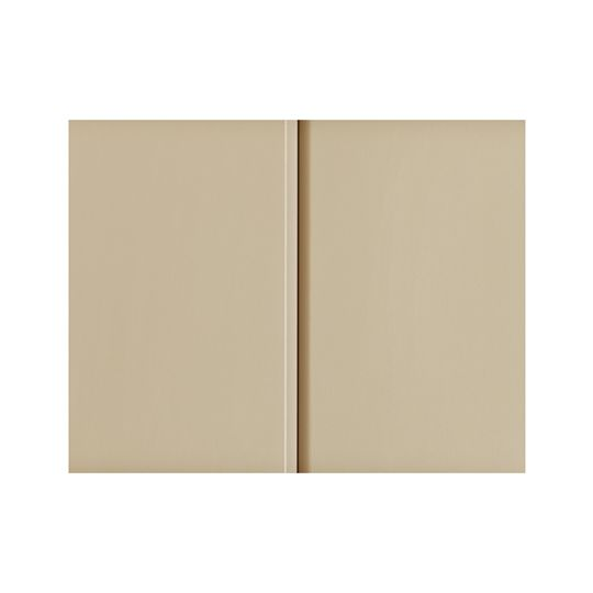 """Quality Edge 10"""" x 12' TruLine® HP-Series Aluminum Double 5"""" Solid Soffit Brown"""