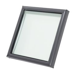"Velux 25-1/2"" x 25-1/2"" Outside Curb Curb Mounted Skylight with Aluminum..."