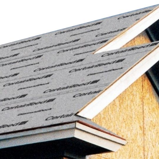 """CertainTeed Roofing 48"""" x 250' DiamondDeck® HD Synthetic Roofing Underlayment - 10 SQ. Roll"""