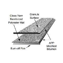 Firestone Building Products APP 180 FR (Fire-Retardant) Granule-Surface...