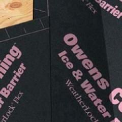 Owens Corning WeatherLock® Flex Flexible Self Sealing Ice & Water...