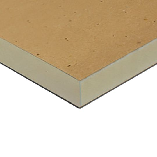 "Johns Manville 2"" x 4' x 8' R-Panel Grade-III (25 psi) Polyiso Insulation Tan"