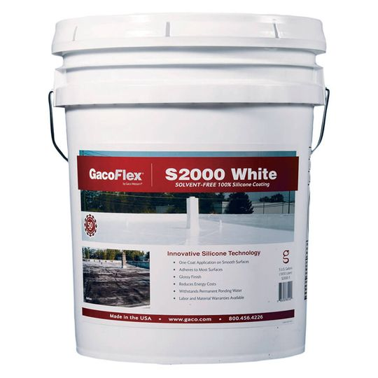 Gaco Western GacoFlex® S20 Silicone Coating - 5 Gallon Tan