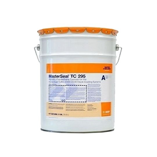 BASF Conipur 295 Top Coat - 5 Gallon Pail Charcoal Grey