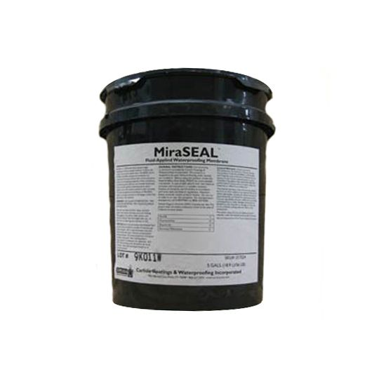 Carlisle Coatings & Waterproofing Miraseal - 5 Gallon Pail Black