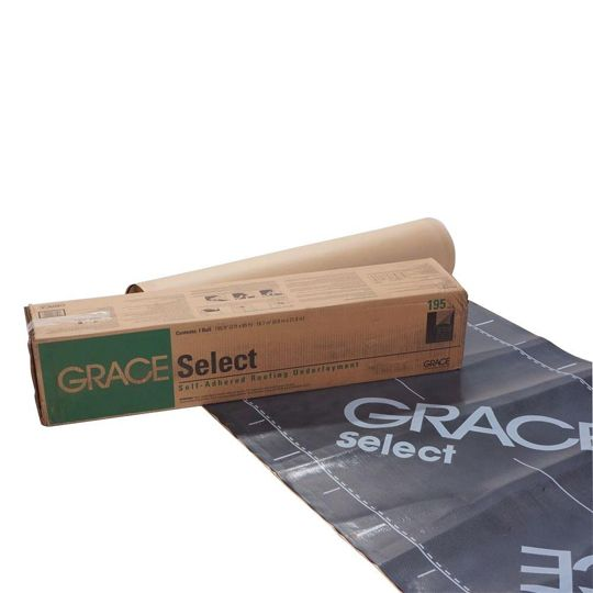 "GCP Applied Technologies 36"" x 65' Select™ Roofing Underlayment - 2 SQ. Roll Grey-Black"