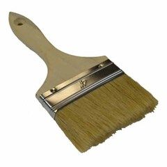 "Roofmaster 4"" 2-Row Varnish Chip Brush"