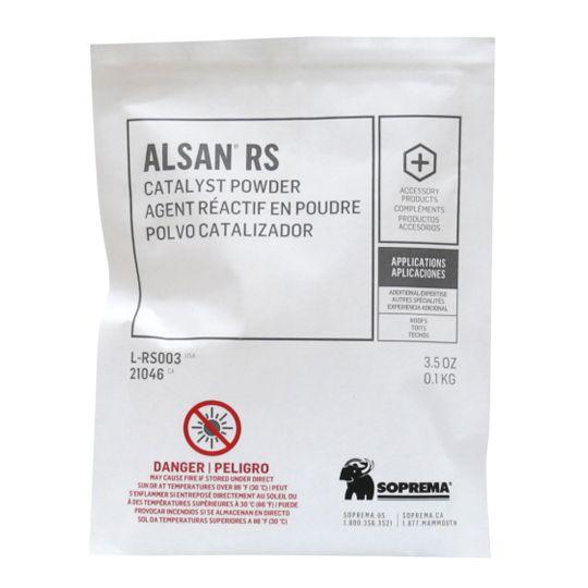 Soprema 34% Catalyst Powder for ALSAN® RS LO (Low-Odor) - 25 kg (55 Lb.) Box