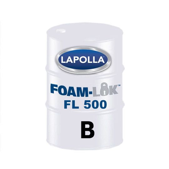 Lapolla Industries FOAM-LOK™ 500 Open-Cell Spray Foam Insulation Part-B - 500 Lb. Drum