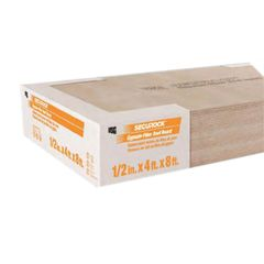 "Johns Manville 1/2"" x 4' x 4' SECUROCK Gypsum-Fiber Roof Board"