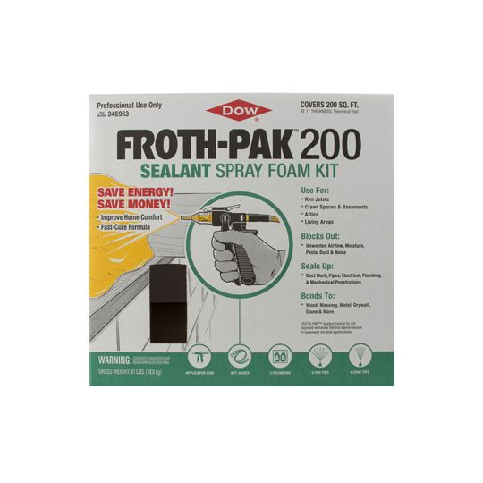 DOW FROTH-PAK™ 200 Kit