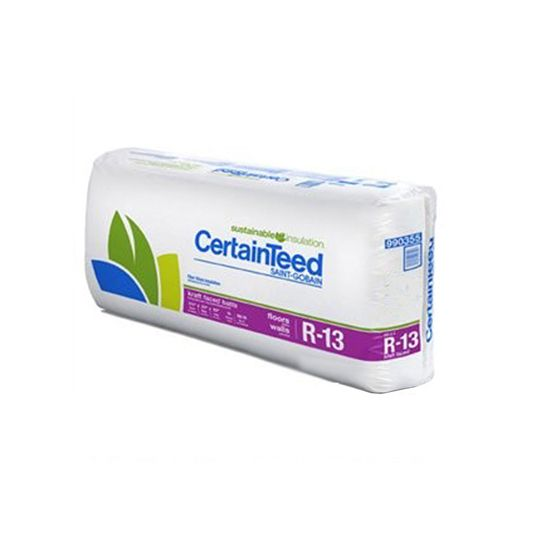 "Certainteed - Insulation 3-1/2"" x 15"" x 32' R-13 Kraft Faced Roll - 40 Sq. Ft."