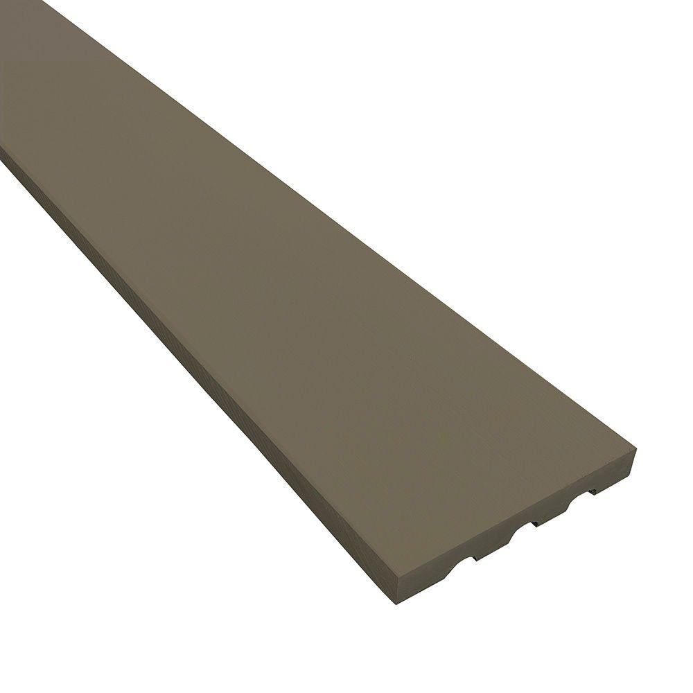 "James Hardie 3/4"" 5-1/2"" x 12' HardieTrim® 4/4 NT3® Smooth Board for HardieZone® 5 Arctic White"