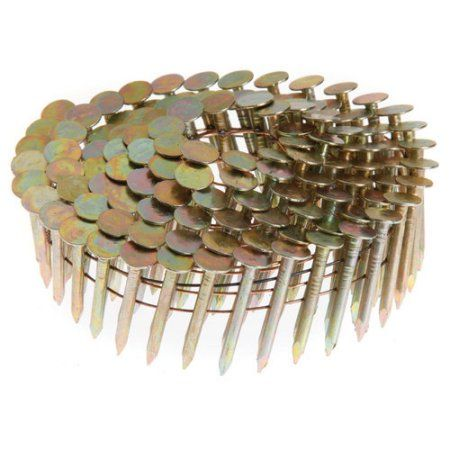 "Generic 1-1/4"" Ring Shank Coil Roofing Nails - Dade County Approved"