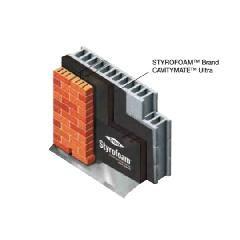 """DOW 2.18"""" x 16"""" x 96"""" Styrofoam™ CavityMate™ Ultra Insulation"""