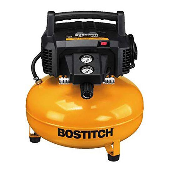 Stanley Bostitch 6 Gallon Pancake Industrial Air Compressor