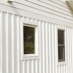 "Nichiha Fiber Cement 5/16"" x 4' x 8' Smooth Vertical Siding"