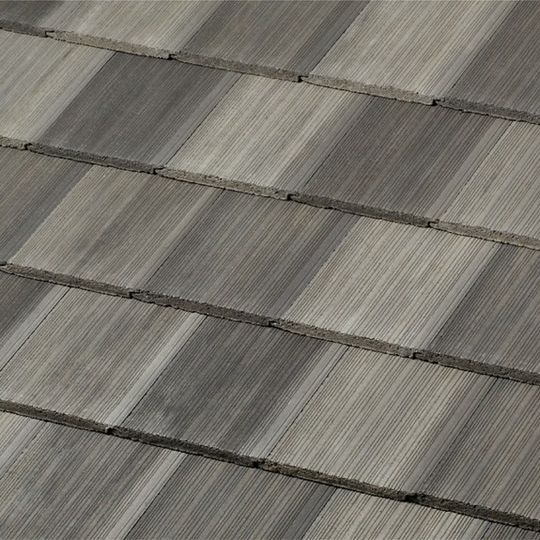 Boral DuraLite Saxony 600 Shake Field Tile Charcoal Blend