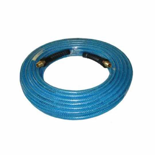"""C&R Manufacturing 50' x 1/4"""" Polyurethane Air Hose Blue"""