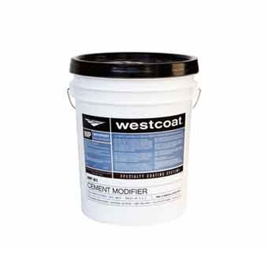 Westcoat Specialty Coating Systems WP-81 Cement Modifier - 5 Gallon Pail White