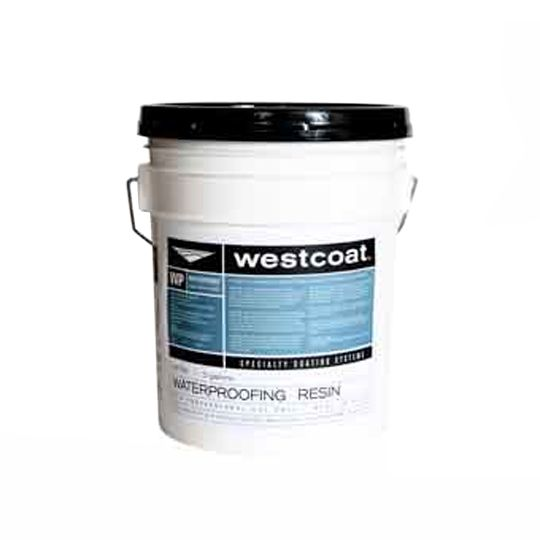 Westcoat Specialty Coating Systems WP-90 Waterproofing Resin - 5 Gallon Pail Amber