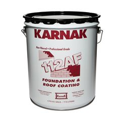 Karnak #112 Foundation & Roof Coating - 5 Gallon Pail
