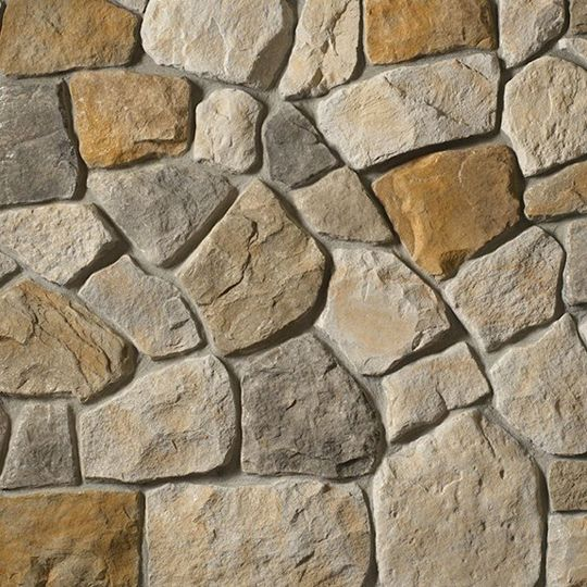 Cultured Stone Dressed Fieldstone Big Box Flat Chardonnay