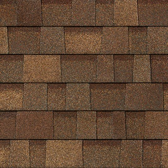 Owens Corning Oakridge® Shingles Black Walnut