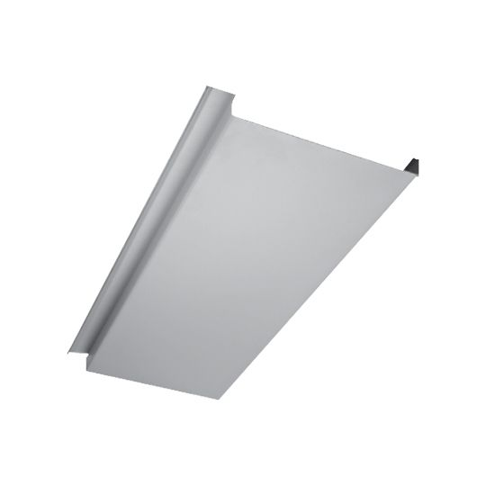 """Quality Edge .024"""" x 10' InsideOut Aluminum UnderDecking Panel Clay"""