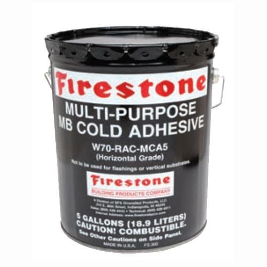 Firestone Building Products Multi-Purpose MB Cold Adhesive - 4.75 Gallon Pail
