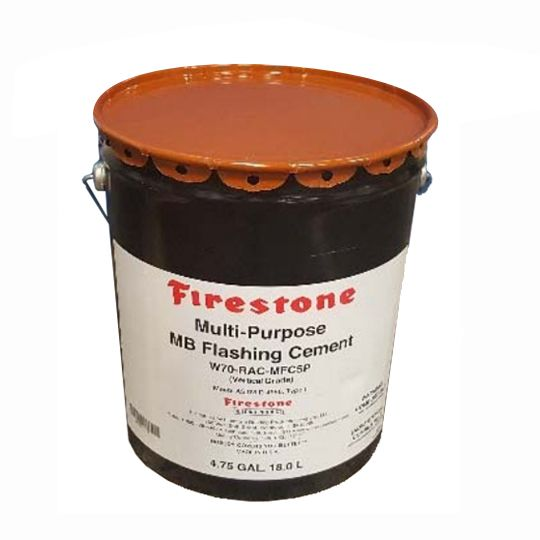 Firestone Building Products Multi-Purpose MB Flashing Cement 4.75 Gallon Pail