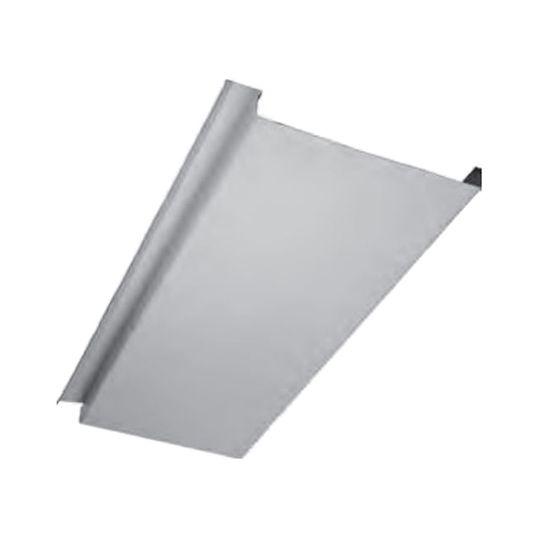 "Quality Edge .024"" x 8"" x 14' InsideOut® Woodgrain Underdeck Panel Light Cherry"
