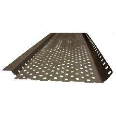 """US Aluminum 5"""" x 10' Shur Flo Gutter Guard"""