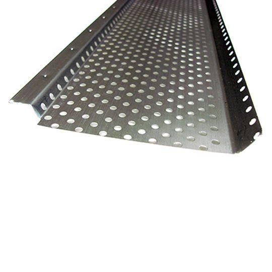 "US Aluminum 6"" x 10' Shur Flo Black"