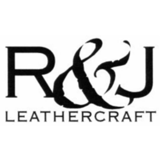 R&J Leathercraft (No. 903-1) Top Grain Fiber-Lined Double Utility Knife Holder