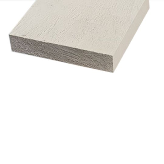 """Universal Forest Products 2"""" x 8"""" x 16' Fascia Primed Board"""