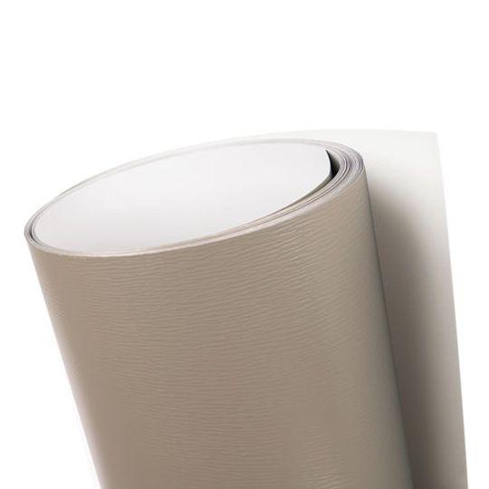 """Quality Edge .024"""" x 24"""" x 50' Q800 TuffTech Aluminum Trim Coil Brown/White"""