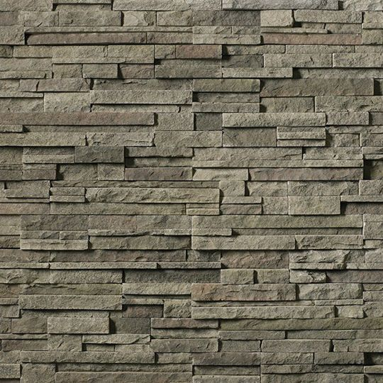 Cultured Stone Pro-Fit® Alpine Ledgestone Big Box Flat Black Mountain